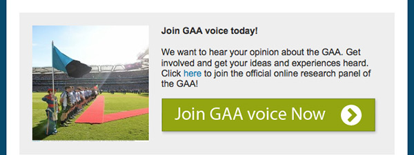 Join GAA Voice now