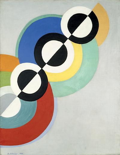 Robert Delaunay, Rythmes, 1934