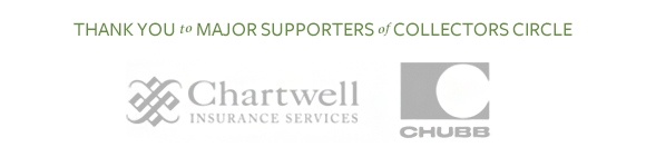 Collectors Circle is sponsored by Chartwell Insurance Services and Chubb.
